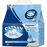 Catsan Katzenstreu Hygiene plus / Nicht klumpendes Hygienestreu / natürliche, weiße Körnchen mit Extra-Mineralschutz / 1 x 10 l