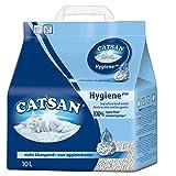 Catsan Katzenstreu Hygiene plus, nicht klumpendes Hygienestreu, 1 x 10 l