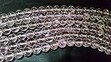 LOVEKUSH RARE BEADS Kunzite Round Beads 8mm, Top Quality Beads in good color, AAAA Quality Length 14 inch. Code-LKI28