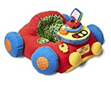 Melissa & Doug K's Kids Tüt-Tüt und Aktivitäten-Spielcenter - Weiches pädagogisches Baby-Spielzeug