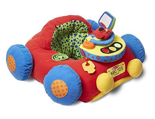 Melissa & Doug K's Kids Tüt-Tüt und Aktivitäten-Spielcenter - Weiches pädagogisches Baby-Spielzeug (Melissa Doug Spielzeug Und)