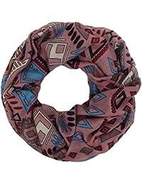 Loop rosa altrosa Ethno Ibiza by Ella Jonte Damenschal Schal Viskose Hippie