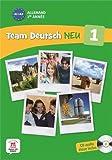 Allemand 1re année A1-A2 : Livre de l'élève (1CD audio)