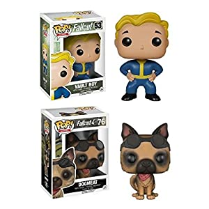 Funko Pop pack Vault Boy + Dogmeat (Fallout) Funko Pop Fallout