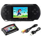 """Spielkonsolen 2.7 """"LCD Handheld Spielkonsole 16 Bit Portable Wiederaufladbare Videospiel mit 150 + Spiele (Spielkonsolen)"""