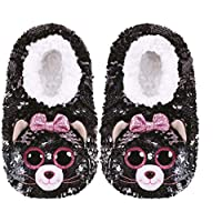 Ty TY95500 Kiki CAT-Slippers Sequin-Small, Multicolored, 30