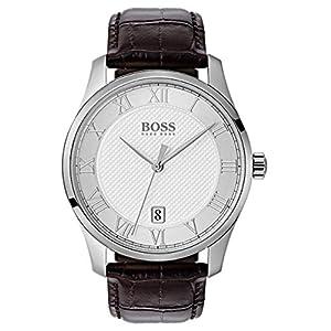 Hugo BOSS Reloj Analógico para Hombre de Cuarzo con Correa en Cuero 1513586