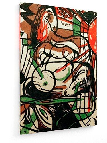 franz-marc-el-nacimiento-del-caballo-60x90-cm-weewado-impresiones-sobre-lienzo-muro-de-arte