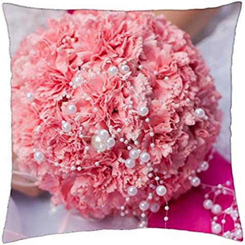 Wonderful Wedding Bouquet - Throw Pillow Cover