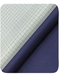 c7c5e33e22d Raymond Men s Polyester and Viscose Unstitched 1.25 m and 2.40 m Trouser and  Checks Shirt Fabric