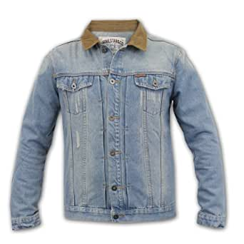 Men's Jacket Soul Star & Co DENIMCORD Denim X Large