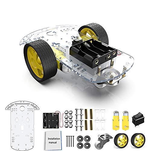 Diymore 2WD Robot Smart Car Chassis DIY Kits Motor