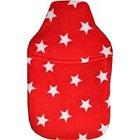 Vagabond Bags 2Liter rot Sterne Wärmflasche und Bezug preisvergleich bei billige-tabletten.eu