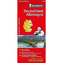 Michelin Deutschland: Straßen- und Tourismuskarte (MICHELIN Nationalkarten)