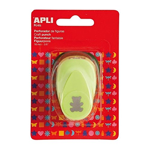 Perforadora oso verde apli 13631