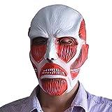 Attaque sur le masque Titan, Guizen géant Costume Cosplay Prop Halloween caoutchouc