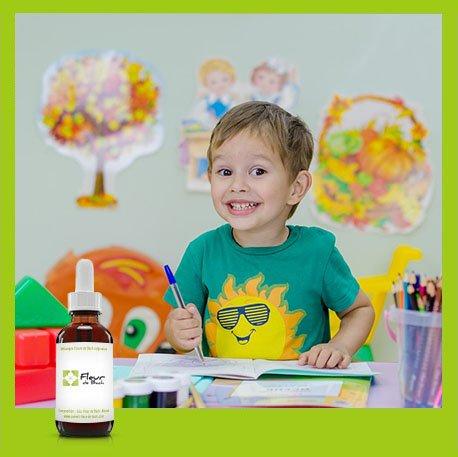 Fleur de Bach Enfants agités Sans Alcool- Ce mélange est efficace et...