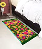 #6: Warmland Floral Polycotton Bed Side Runner - 30
