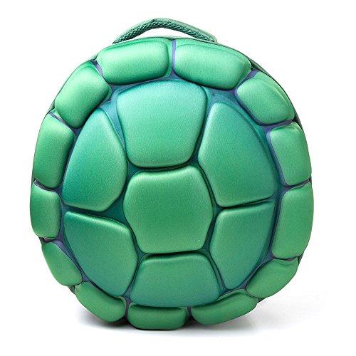 Bioworld Teenage Mutant Ninja Turtles (TMNT) Turtle Shell Moulded Shaped Backpack, Green (BP101001TMT) Rucksack, 47 cm, 10 liters, Grün (Green)
