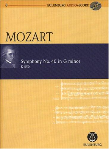 Symphony No. 40 G Minor KV 550 Poche+CD