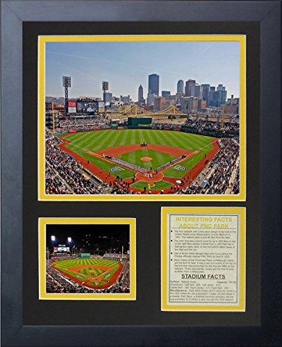 Pittsburgh Pirates Sechzigjährigen Park gerahmtes Foto Collage, 11von 35,6cm ()