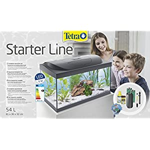 Tetra Tetra Aquarium Starter Line LED Fish Tank Complete Set Fish Tank