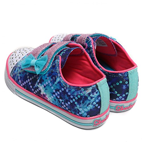 Tinkle Toes by Sketchers Twinkle Toes Chit Chat Lil Chatty Sneakers blue / multi