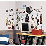 Joy Toy Stickers repositionnables Star Wars Classique Multicolore