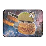 werert Taco Cat Hamburg Personalized Door Mats