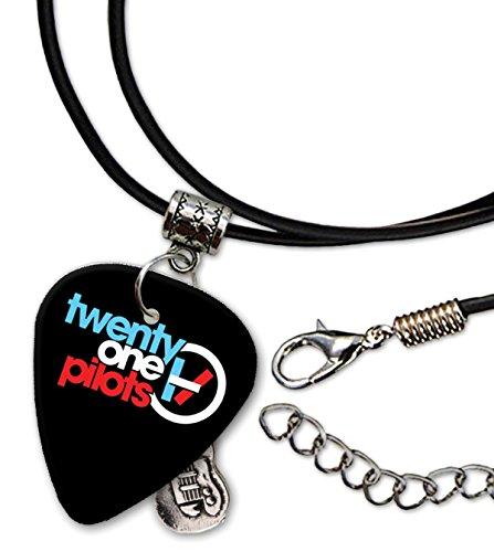 Twenty One Pilots Gitarre Plektrum Cord Necklace Halskette (F1)