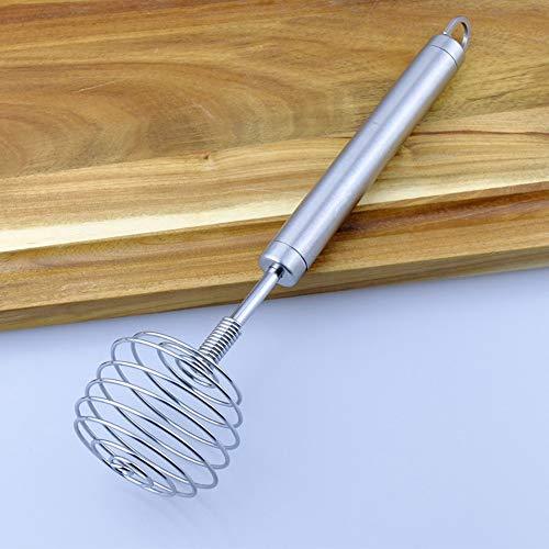 Herramienta manual para hornear de acero inoxidable batidora de crema en crema para el cabello removedor de barra