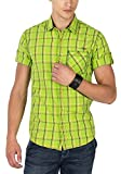 Mufti Mens Lime Slim Fit Mid Rise Casual...