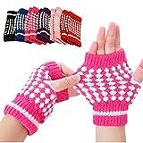 Handschuhe Transer® New Cute Mädchen Stricken warme Fäustlinge Ananas Muster Hälfte Fingerlose Handschuhe für Geschenke/Weihnachten Geschenke