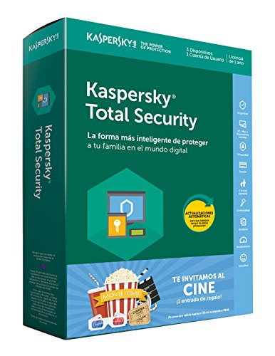 Kaspersky Lab Total Security 2018 3licencia(s) 1año(s)