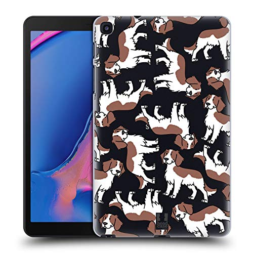 Head Case Designs Welsh Springer Spaniel Hunderassen Muster 13 Harte Rueckseiten Huelle kompatibel mit Samsung Galaxy Tab A 8 (2019) -