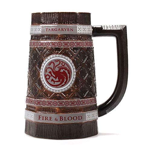 Half Moon Bay MUGSTGT04 Pitcher Game of Thrones Targaryen, Pottery