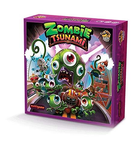 Lucky Duck Games LKY030 Zombie Tsunami, Mehrfarbig (Kindle Brettspiele)