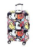 Cubierta de equipaje de viaje lavable Myosotis510 Protector de maleta divertida de dibujos animados para equipaje de 18-32 pulgadas