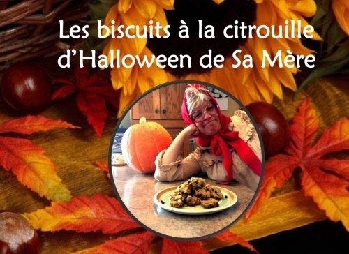 Les biscuits à la citrouille d'Halloween de Sa Mère