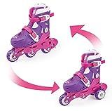 FUNBEE - Rollers En Ligne/Patin 2 En 1 (3 Roues) - Pointure du 27 au 30 - OFUN084-F