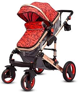 R for Rabbit Hokey Pokey - The Ultimate Baby Stroller - Pram (Red)