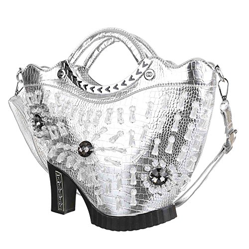 Ital-DesignTragetasche bei Ital-Design - Custodia Donna Argento (argento)