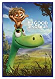 Close Up The Good Dinosaur Poster (Disney Pixar) Arlo & Spot (94x63,5 cm) gerahmt in: Rahmen blau