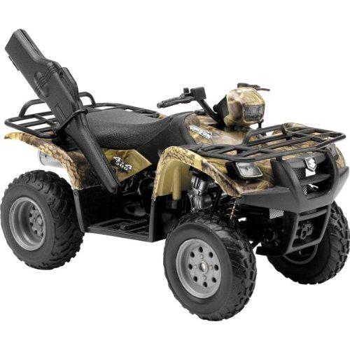 Preisvergleich Produktbild 1/12 Suzuki Vinson Auto 500 4x4 Camo ATV by New Ray