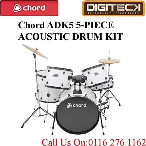 adk5-chord-5-piece-acustico-imbottito-drum-set-con-kick-pedale-in-bianco