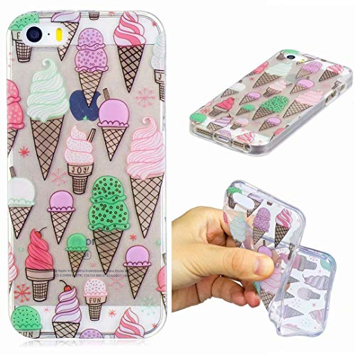 Cover iPhone 5/5S/SE Silicone ultra trasparente...