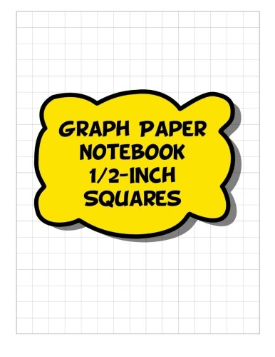 graph-paper-notebook-1-2-inch-squares-2-squares-per-inch-grid-lined-pages-yellow-graph-paper-noteboo