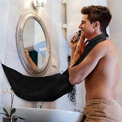 OLDK Delantal Cuidado Barba Masculina Baño Afeitado