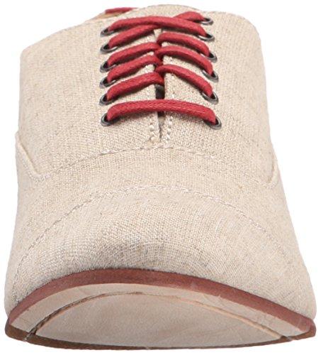 Sebago Women's Hutton Cap Toe Boot Natural Linen