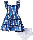 Nauti Nati Baby Girls' Dress (NSS15-672_Blue_18 - 24 months)